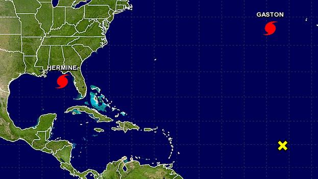 El huracán Hermine golpea Florida con menos fuerza de la esperada