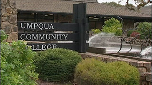 Centro de Oregon donde ocurrió el tiroteo este jueves. (UMPQUA Community College)