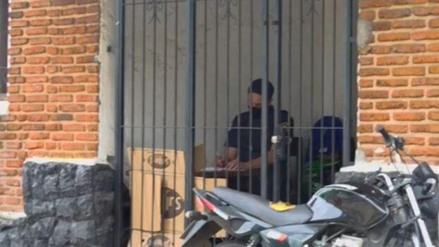 Centro de contingencia instalado en la frontera de Uruguay con Brasil, en que permanecen 10 días los migrantes tras realizarles las pruebas PCR. (Captura)