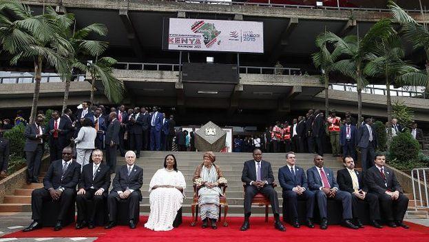Ceremonia inaugural de la Conferencia de la Organización Mundial del Comercio en Nairobi. (@MC10Nairobi)