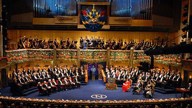 Ceremonia del Premio Nobel en 2007