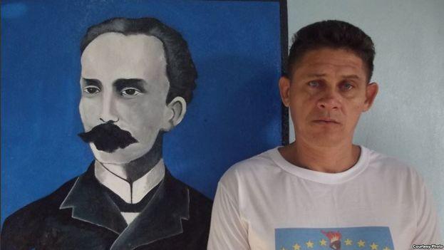 """Cervantes fue detenido el pasado 23 de mayo, en lo que su mujer describe como """"una represalia"""" por denunciar varios robos efectuados por las autoridades en su vivienda. (Unpacu)"""