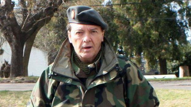 César Milani, exjefe del Ejército argentino. (proyectohumano.net)