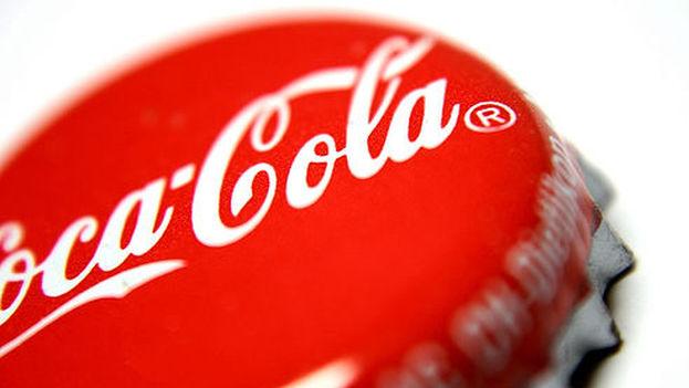 Chapa de una botella de Coca-Cola