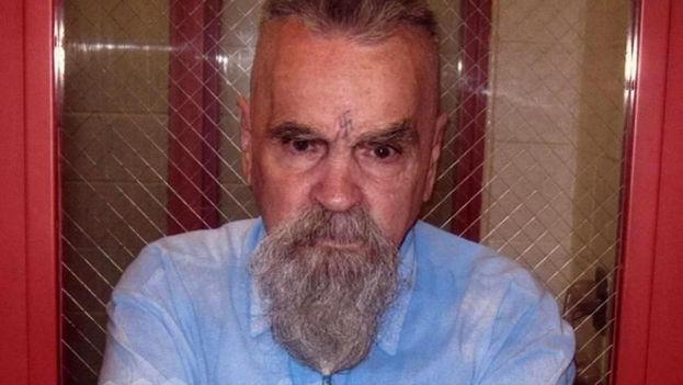 Charles Manson en una imagen tomada en prisión el año 2014. (EFE)