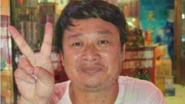 El activista y artista Chen Yunfei, había sido arrestado en 2015 tras rendir tributo a dos estudiantes fallecidos en la masacre de Tiananmen. (CC)