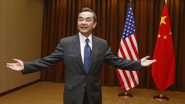 """El ministro chino de Asuntos Exteriores, Wang Yi, afrimó hoy que el el estado de la """"seguridad y la estabilidad"""" en la península coreana es """"quebradizo"""". (EFE)"""