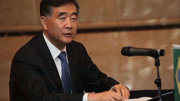 El viceprimer ministro de China, Wang Yang. (Anderson Riedel/Flickr/CC)