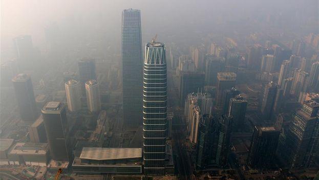China, el mayor emisor mundial de dióxido de carbono, se ha comprometido a alcanzar su mayor nivel de emisiones hacia 2030. (Xinhua)