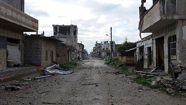 Ciudad en Siria. (EFE)