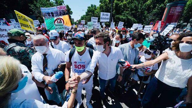Claro que Cuba es una dictadura, señaló el presidente del PP, Pablo Casado Blanco. (@pablocasado_)