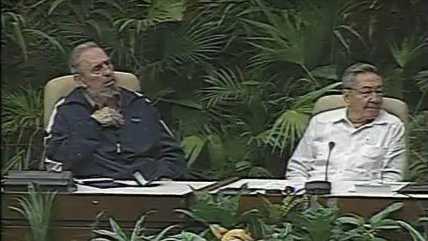Clausura del VI Congreso del Partido Comunista de Cuba. (Youtube)