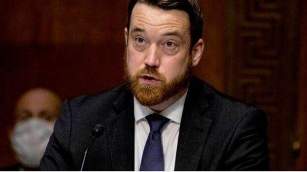 Josh Hodges fue hasta principios de este año asesor y portavoz del cubanoamericano Claver-Carone en el Consejo de Seguridad Nacional de la Casa Blanca. (El Pitazo)