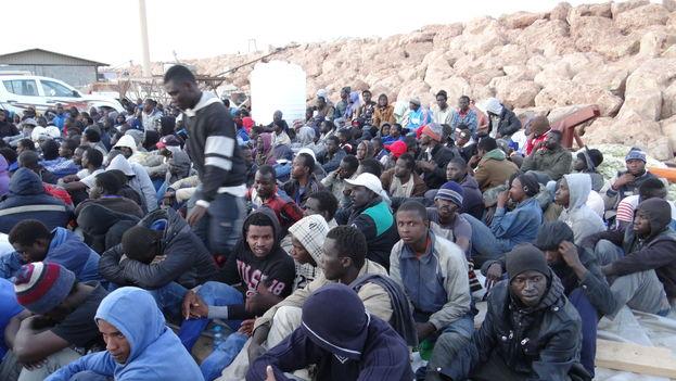 Hoy, la mayoría de los migrantes rescatados en alta mar han viajado desde Senegal, Gambia, Somalia y Eritrea