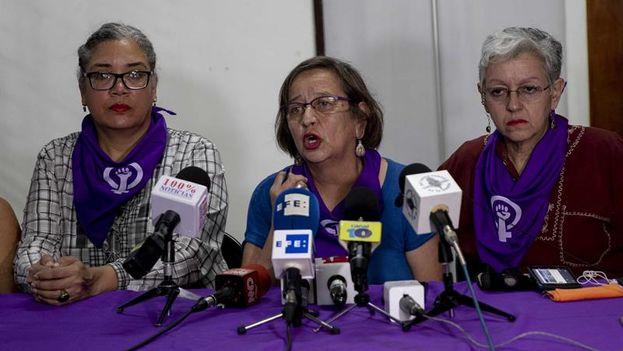 El Colectivo de Mujeres de Matagalpa anunció su desacuerdo por estas acciones de las autoridades. (EFE)