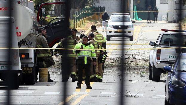 Colombia reclama la extradición de los dirigentes del ELN, organización que reivindicó el atentado a la Escuela de Cadetes de Bogotá en 2019, están en Cuba actualmente. (EFE)