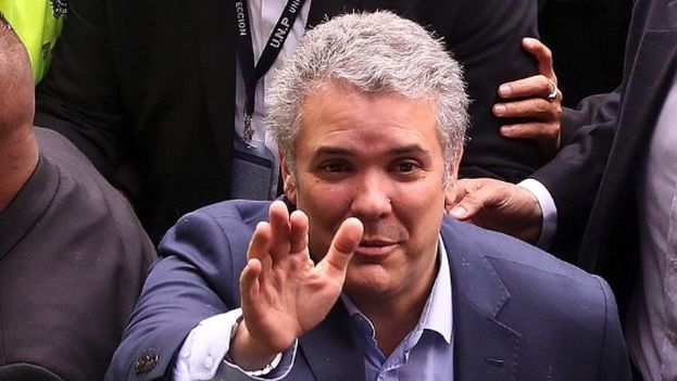 """El presidente electo de Colombia, Iván Duque, ha subrayado su intención de hacer """"correcciones"""" al acuerdo definitivo de paz con la FARC. (EFE)"""
