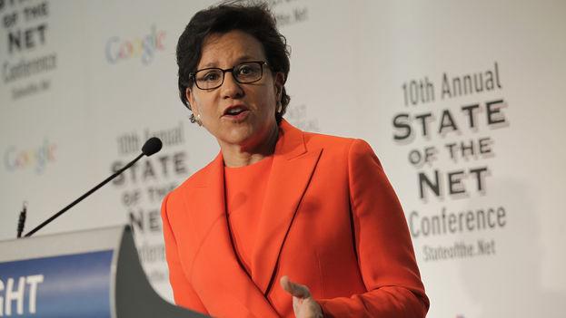 La secretaria de Comercio de EE UU, Penny Pritzker. (Dep. de Comercio de EE UU)