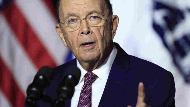 Wilbur Ross, secretario de Comercio de EE UU. (US Embassy)