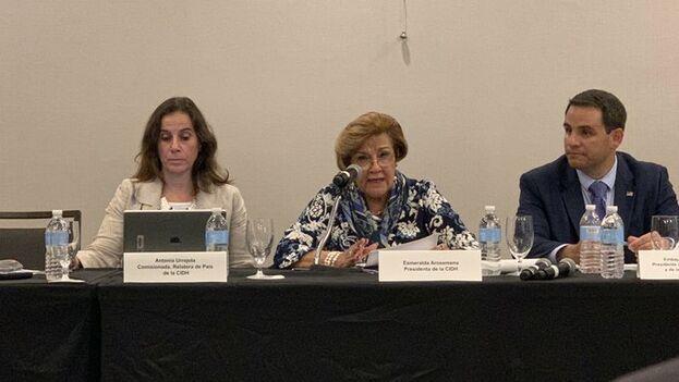 El informe de la Comisión Interamericana de Derechos Humanos se presentó este martes en Miami. (EFE)