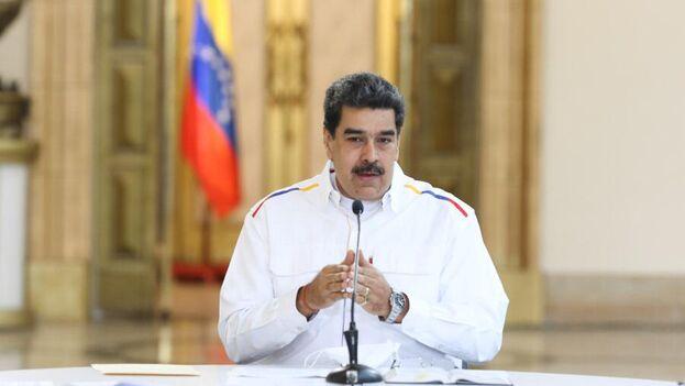 Maduro aseguró durante una reunión que sostuvo con los miembros de la Comisión Presidencial para la Prevención del covid-19 que Guaidó firmó un documento con la contratista militar Silvercorp (@NicolasMaduro)