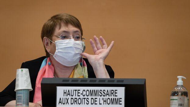 La Alta Comisionada de la ONU para los Derechos Humanos, Michelle Bachelet, hizo fuertes críticas al Gobierno nicaragüense. (EFE)