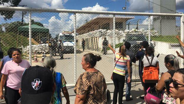 En el Compaj se produjo el domingo el hallazgo de los cuerpos de 15 internos de entre 21 y 42 años de edad. (Filipe Távora)