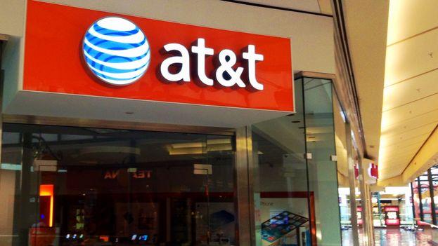 Compañía estadounidense de telecomunicaciones AT&T. (Flickr)