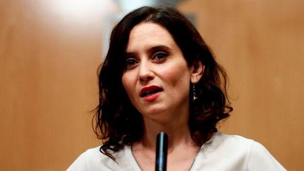 La presidenta de la Comunidad de Madrid, Isabel Díaz Ayuso. (EFE)