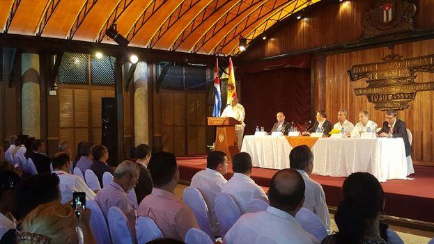 El presidente de la Comunitat Valenciana, Ximo Puig, ha anunciado la participación de la Comunitadad Valenciana en la próxima FIHAV en Cuba. (@generalitat)