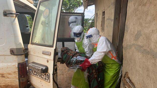Esta epidemia de ébola en el Congo no ha sido declarada emergencia mundial pese a haberse detectado algún caso en Uganda, donde la situación ya está controlada. (@OMSRDCONGO)