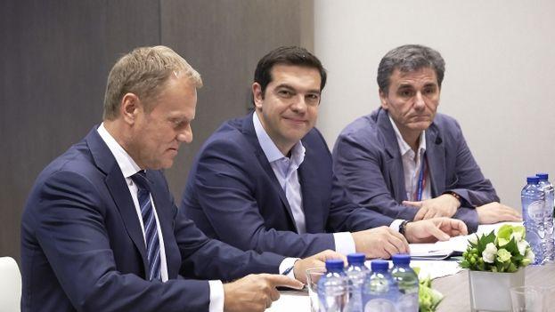 La eurozona alcanza un acuerdo con grecia por unanimidad for Presidente del consejo europeo