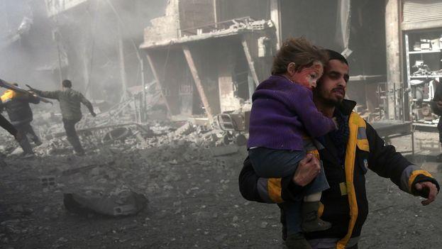 El Consejo de Seguridad de Naciones Unidas abordó este lunes el presunto ataque químico en Siria. (Unicef)