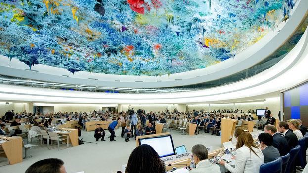 Sala del Consejo de Derechos Humanos, en Ginebra. (un.org)