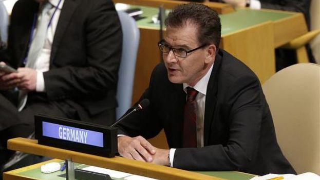 El ministro alemán de Cooperación para el Desarrollo, Gerd Müller. (EFE)