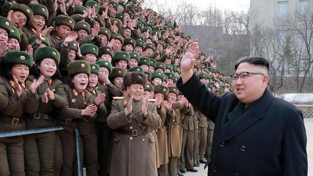 El líder de Corea del Norte, Kim Jong-Un. (EFE)