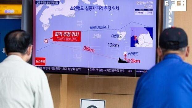 Corea del Norte asegura que las tropas, tal y como indica su protocolo de actuación, realizaron diez disparos de advertencia al detectar la presencia ilegal del hombre. (EFE)