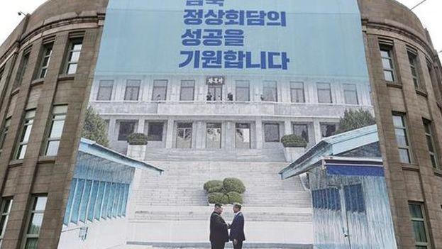 Las esperanzas de estos norcoreanos atrapados están depositadas en la cumbre que los líderes de las dos Coreas, Kim Jong-un y Moon Jae-in, mantendrán próximamente. (EFE)