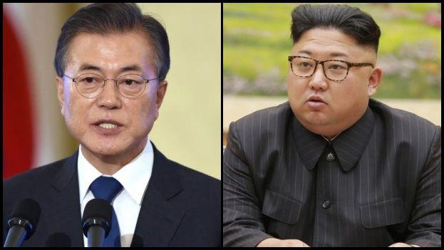 La cumbre entre los presidentes de las dos Coreas, Moon Jae-in y Kim Jong-un, aún no tiene fecha fijada. (14ymedio)