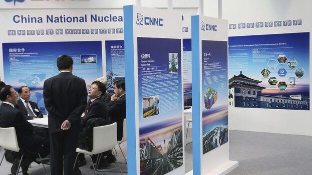 """La Corporación Nuclear Nacional de China dice que el reactor Hualong-1 tiene una vida útil de unos 60 años y que cumple con los """"más estrictos estándares de seguridad del mundo"""". (EPA/Sergei Ilnitsky/Archivo)"""