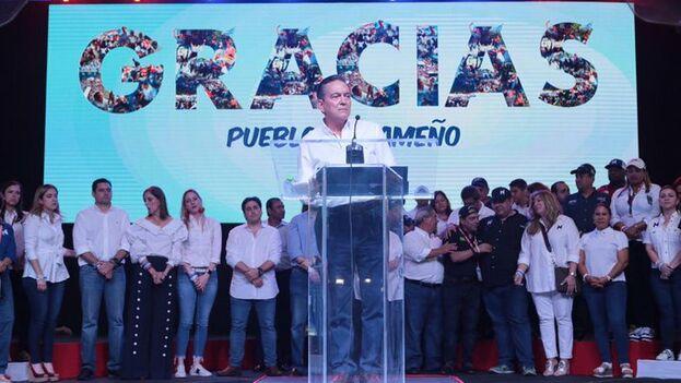 """Cortizo agradeció a sus votantes la confianza y reivindicó el rechazo de los panameños a seguir con """"más de lo mismo"""". (NitoCortizo)"""