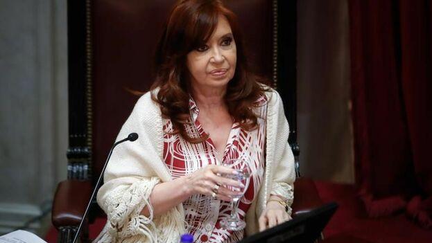 La expresidenta argentina Cristina Fernández de Kirchner ha visitado Cuba nueve veces en el último año. (EFE/ Juan Ignacio Roncoroni/Archivo)