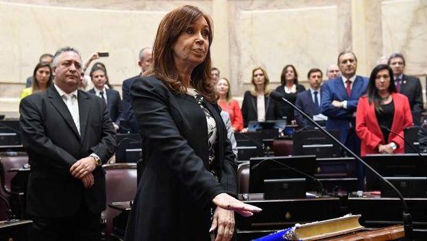 Cristina Fernández de Kirchner en una imagen de archivo. (EFE)