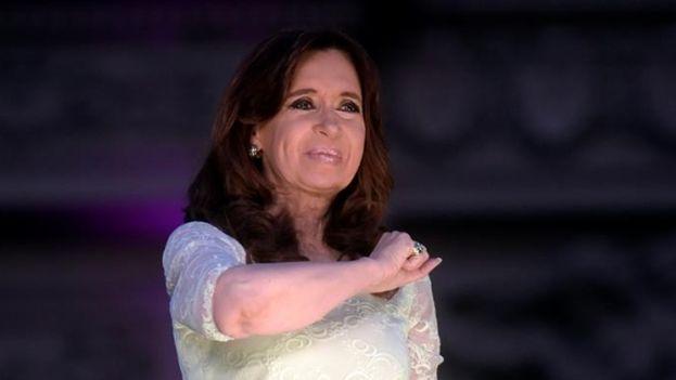 Cristina Fernández le dice adiós a ocho años de gobierno. (Foto EFE)