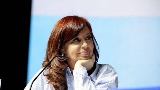 Cristina Fernández apura los últimos días de campaña ante las primarias, que se celebran el domingo. (@CFKArgentina)