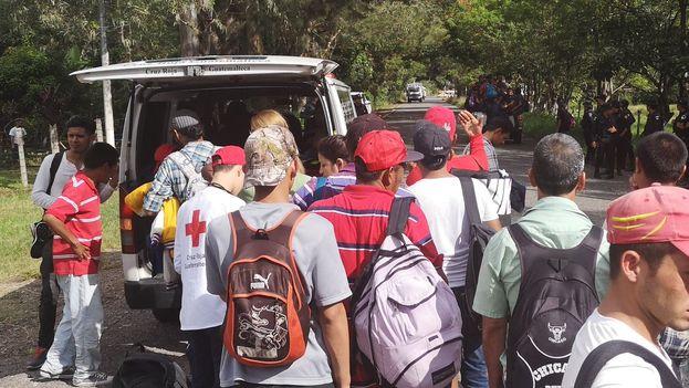 Segob recibe 640 solicitudes de refugio de migrantes hondureños