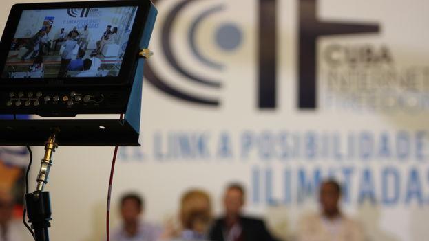 El Cuba Internet Freedom estará sesionando durante dos días en Miami. (14ymedio)