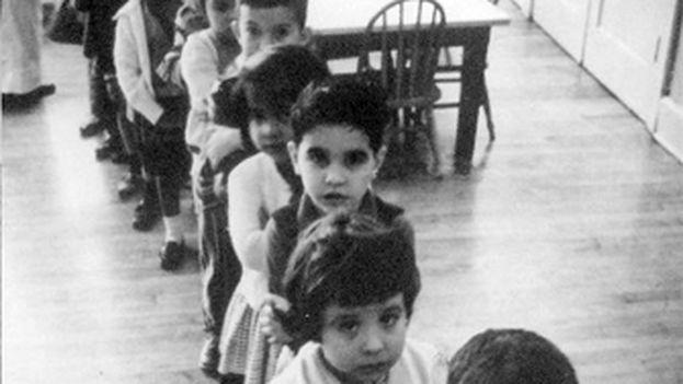 Más de 14.000 niños salieron de Cuba entre 1960 y 1962 en la Operación Pedro Pan. (Wikimedia Commons)