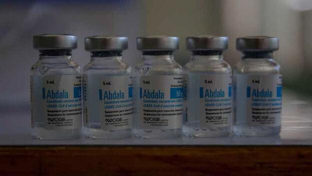 """Cuba afirmó, sin precisar cifras, que enviará """"un gran número"""" de vacunas Abdala a Vietnam desde ahora a finales del año. (EFE)"""