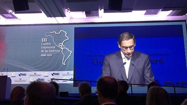 La Cumbre Empresarial, auspiciada por el BID,  reúne a alrededor de 1.500 funcionarios internacionales, nacionales y locales, con ejecutivos de los sectores más pujantes del mundo de las finanzas y empresarial del continente. (BID)